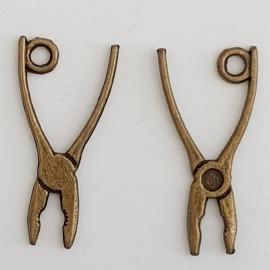 Breloque Outil Pince Bronze