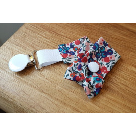 Attache tétines liberty Wiltshire Berry