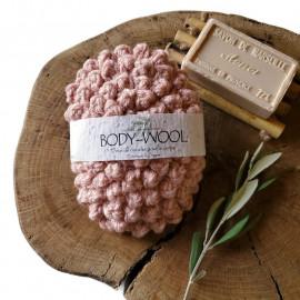 Body-Wool (éponge pour le corps lavable)