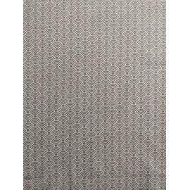 Tissu coton - Arcs gris et blanc - Oeko-Tex