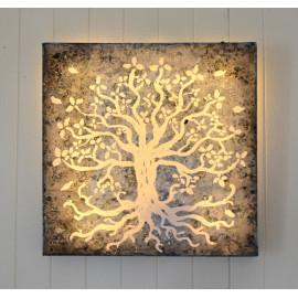Tableau lumineux LED, Couleurs personnalisables, décoration murale, Arbre de vie