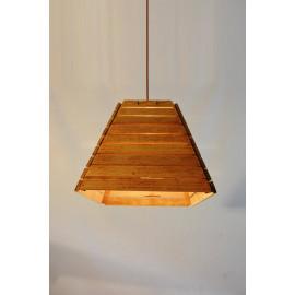 Lixah // Abat-Jour en bois de chêne recyclé. Design contemporains