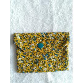 Etui ou pochette à savon - Coton enduit