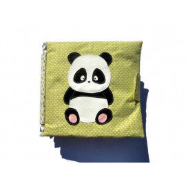 Livre d'activité en tissu Panda, quietbook