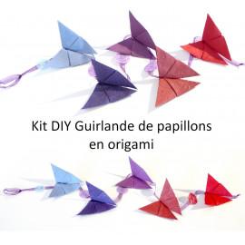 Kit DIY Guirlande en origami