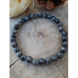 Bracelet femme en LABRADORITE, pierres naturelles (Baptiste)