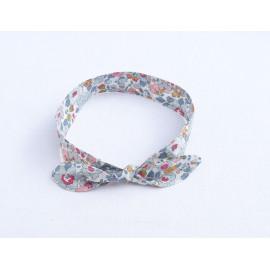 Original bandeau headband fille«betsy porcelaine» 0/ 24 mois