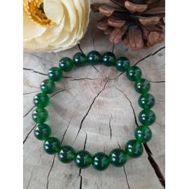 Bracelet en pierres naturelles AGATE verte (Adel)