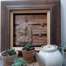 Tableau énergétique de décoration méditative