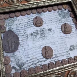 Tableau énergétique LUNGTA de décoration méditative