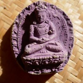 Porte bonheur amulette tsatsa - Bouddha Vajradhara - en argile