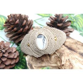 Bracelet • Howlite • Macramé