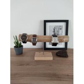 Support montre porte montre présentoir à bijoux cadeau homme femme bois flotté