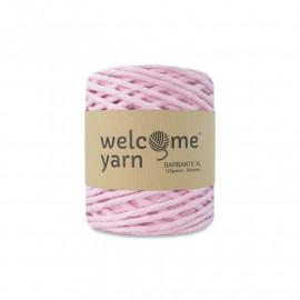 Fil coton macramé - rose clair - 3 mm