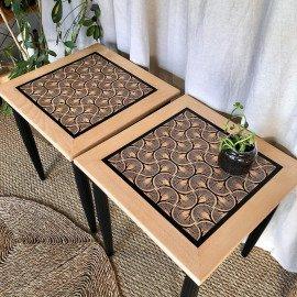 Paire de table basse ou bout de canapé