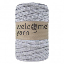 Trapilho - gris chiné clair - 45 m - Welcome Yarn - TP3036