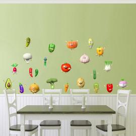 Sticker KIT de 23 légumes