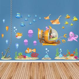 Stickers KIT le monde sous-marin 1