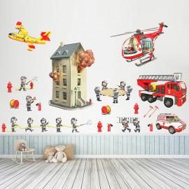 Stickers KIT pompiers