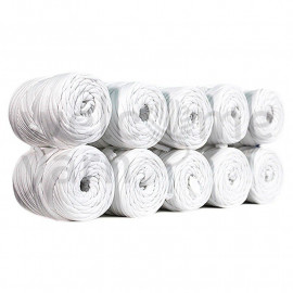 Trapilho - blanc - 20 m - Welcome Yarn