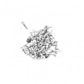 Attaches parisiennes - 4 mm - argent - Kesi'art - x 50