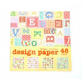 Papier origami japonais - Enfants - Amifa - 15 x 15 cm
