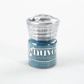 Poudre à embosser - Bleu foncé - Nuvo