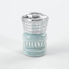 Poudre à embosser - bleu clair - Nuvo