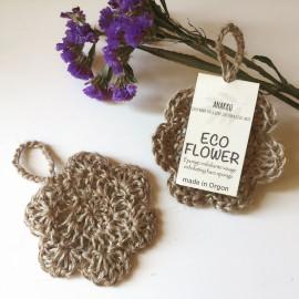 Eco flower (éponge exfoliante spécial visage)
