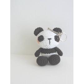 Porte clés panda, peluche miniature, fait main,  cadeau anniversaire, noel,cadeau babysitter,nounou,maitresse,collegues