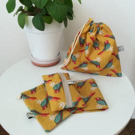 Les jolis mouchoirs de Mimi - Parrots