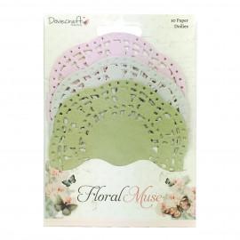 Napperons en papier - Floral Muse - Dovecraft