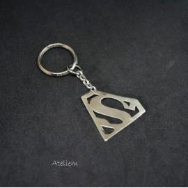 Porte clé - Superman - Argent