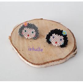 Broche Tasha - perles miyuki