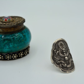 Bague dragon - Silver Jewelry