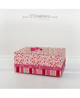 Coffret à bijoux ☆ Flower ☆ boite de rangement, vide-poche