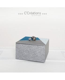 Coffret à bijoux ☆ Grafikk ☆ style scandinave, boite de rangement pour bricoleuse, vide-poche
