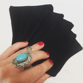 BLACK WIPE (lingette spécial vernis à ongles)