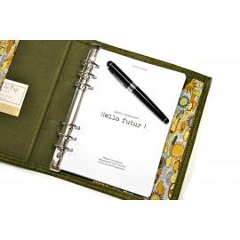 Recharge agenda planner A5, 210 pages papier A5, agenda coaching épanouissement personnel