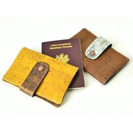 Couverture passeport liège personnalisé Liberty, étui protège passeport original, éthique écologique, étui liège végétal