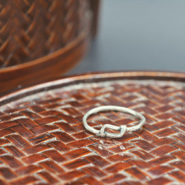 "Bague - Collection ""one line """
