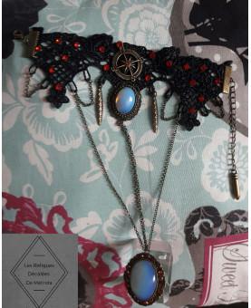 Compass Steampunk Victorien Bracelet Bague