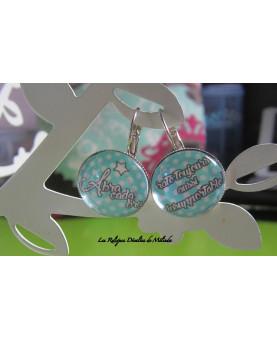 Abra Cada Bra... Boucles d'oreilles Dormeuses