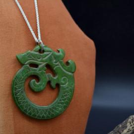 Jade sculpté - Pendentif