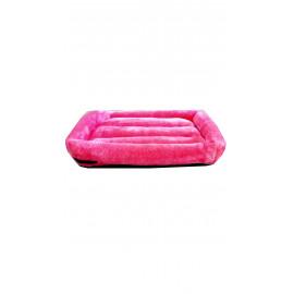 """161""""Panier rose pour chat ou pour petit chien."""""""