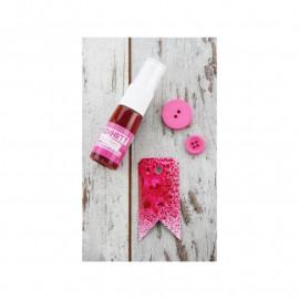 Encre en spray - rose boudoir - Kesi'art