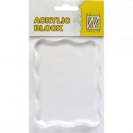 Bloc acrylique - 7 x 9 cm - Nellie Snellen