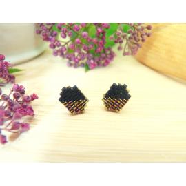 Boucles d'oreilles Alhéna mini puces