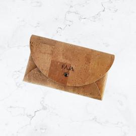 Pochette en liège naturel made in France