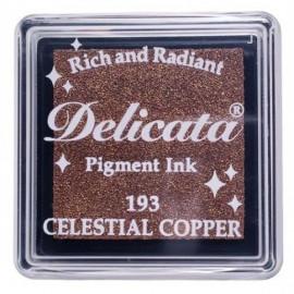 Encre Delicata - cuivre céleste - 3 x 3 cm